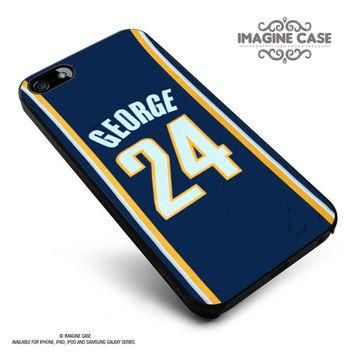 Adidas NBA Indiana Pacers 24 Paul George Jersey case cover for iphone, ipod, ipad and