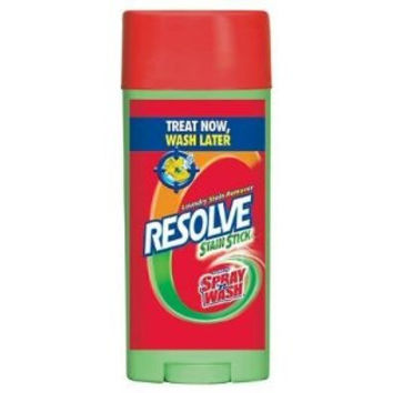 Resolve Laundry Stain Remover Stick, 3 Ounce