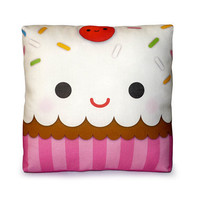 FREE SHIPPING  Mini Pillow  Yummy Cupcake by mymimi on Etsy