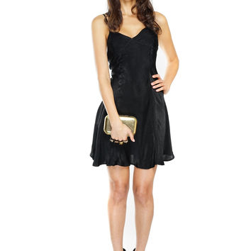 Molley Slip Dress - Black