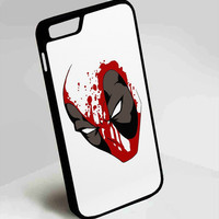 Deadpool Superhero DC Comics iPhone 4, 4s, 5, 5s, 5c, 6, 6plus, 7 Case