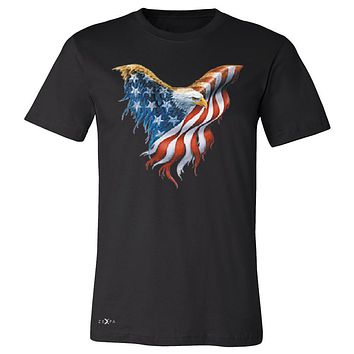 "Zexpa Apparelâ""¢ American Flag Bald Eagle Men's T-shirt USA Flag 4th of July Tee"