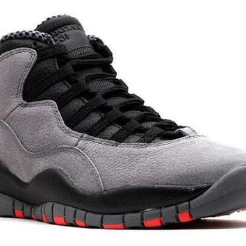 PEAPN Ready Stock Nike Air Jordan 10 Retro Cool Grey  Basketball Sport Shoes