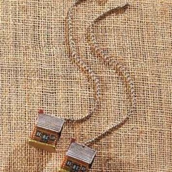 Set Of 2 Decorative Rustic Log Cabin Ceiling Fan Pull Chains Lodge Home Decor