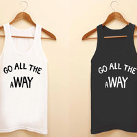 5 second of summer unisex tank top for size S-3XL, color available black and white