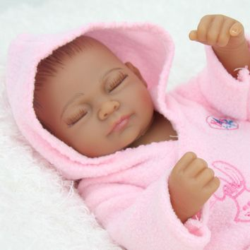 Black Baby Girl Lifelike Reborn Baby Dolls