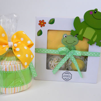 Froggy The Frog Forest Baby Shower Theme Gift for Girls