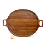 Massive Quistgaard Teak Serving Tray RARE
