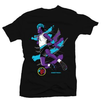 Bobby Fresh Flight Aqua 8s Tee