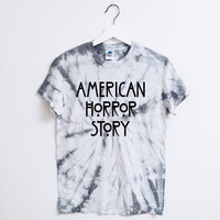 American Horror Story Sliver Tie Dye T-Shirt