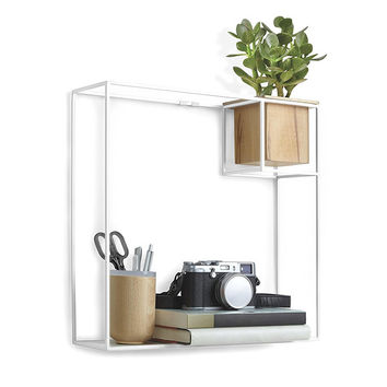 Floating Cube Shelf