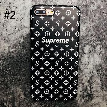 Supreme tide brand men and women frosted iphone6splus soft shell mobile phone case cover #2