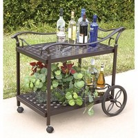 Charleston Tea Cart - Outdoor Furniture - Outdoor Decor - Home & Garden
