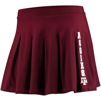 Texas A&M Aggies chicka-d Women's Team Pride Casual Cheer Skirt - Maroon