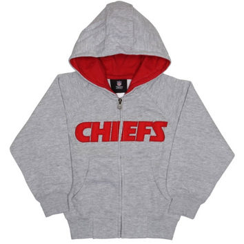 Kansas City Chiefs Reebok Preschool Full-Zip Sportsman Hoodie - http://www.shareasale.com/m-pr.cfm?merchantID=7124&userID=1042934&productID=555851952 / Kansas City Chiefs