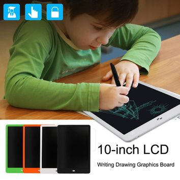 10-inch LCD eWriter Paperless Memo Pad Tablet Writing Drawing Graphics Board Hot Sale Leaning Educational Toys