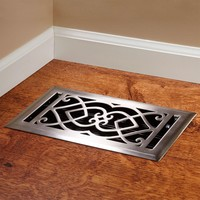 Victorian Steel Floor Register
