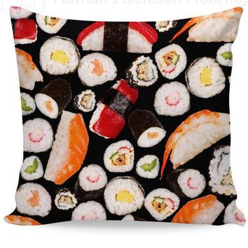Sushi Couch Pillow