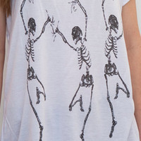 Faith & Fortune Dancing Skeletons : Karmaloop.com - Global Concrete Culture