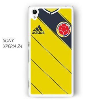 CREYONS Colombia Soccer Jersey for Sony Xperia Z1/Z2/Z3 phone case