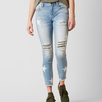 Miss Me Select Standard Ankle Skinny Stretch Jean - Women's Jeans in LT 163 | Buckle