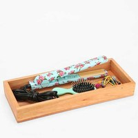 Wooden Storage Tray - Large- Natural One
