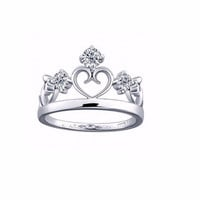 925 Silver Princess Ring, Children Ring, Children Princess Ring
