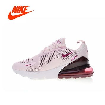 Nike Air Max 270 Womens Running Shoes Sneakers Sport Outdoor Breathable Original Authentic Designer Athletics Low Top AH6789-400