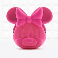 Silicon Minnie Mouse Purse in Pink - Urban Outfitters