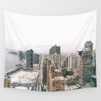 NYC Skyline Wall Tapestry by Vivienne Gucwa