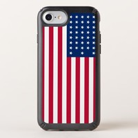 American Flag Speck Presidio Apple iPhone Case