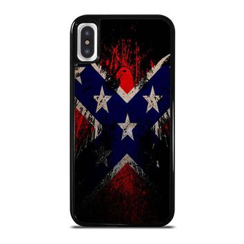 BROWNING REBEL FLAG iPhone X Case Cover