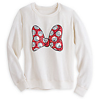 Minnie Mouse Sequin Bow Sweater