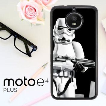 Star Wars Stormtrooper Y0060 Motorola Moto E4 Plus Case