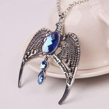 CREYIJ6 Harry Potter Lost Diadem of Ravenclaw Lord Voldemort's Horcrux Necklace Cosplay Costume Accessory Props Collectables