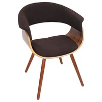 Vintage Mod Chair Walnut, Espresso