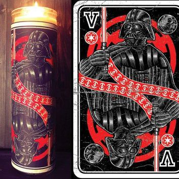 Star Wars Rogue One, Scented  Candle, Prayer Candle, Gift Idea, Darth Vader Helmet, Gifts for Him, Gifts for Her, Best Scented Candles, Sith