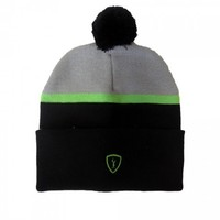 Adrenaline Lacrosse Voyager Knit Hat - Black/Green | Lacrosse Unlimited