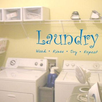 Laundry Room Quote Decal Sticker Wall