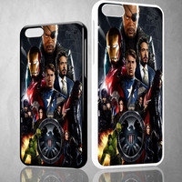 AVENGERS V0746 iPhone 4S 5S 5C 6 6Plus, iPod 4 5, LG G2 G3 Nexus 4 5, Sony Z2 Case