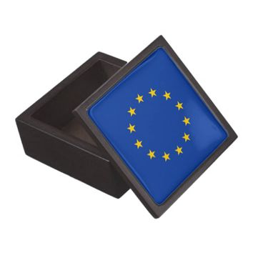 European Union Flag Premium Gift Box