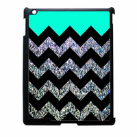 Glitter Print Chevron iPad 3 Case