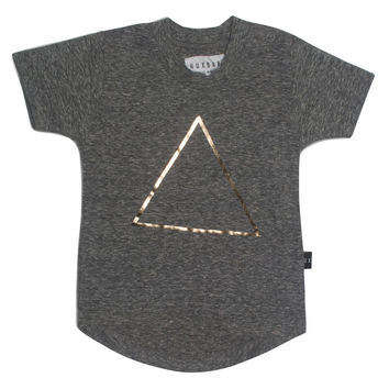 Triangle Drop Back T-Shirt