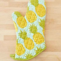 Pineapple Oven Mitt- Yellow One