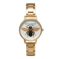 **OLIVIA BURTON WOODLAND BEE BRACELET WATCH