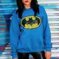 Vintage Batman Sweatshirt / DC Comic / Adam West