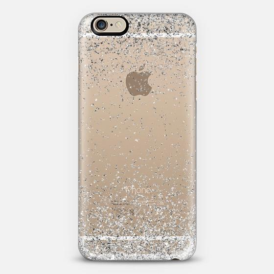 delete all photos on iphone silver sparkly glitter burst iphone 6 from casetify cases 3144
