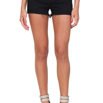 Black High Waisted Denim Shorts from Blank Denim at Blush Boutique Miami - ShopBlush.com : Blush Boutique Miami – ShopBlush.com