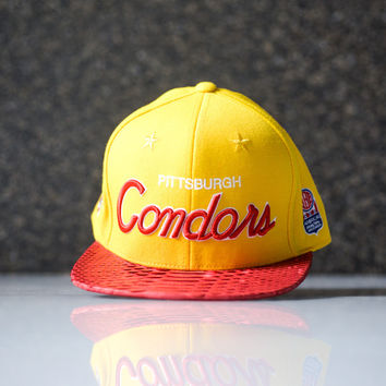 Just Don M&N PA Condors ABA -Yellow/Red