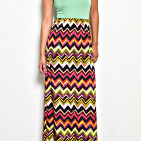 SAHARA ZIG ZAG DRESS